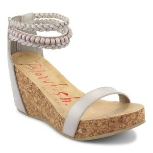 Blowfish Hydro Ankle Strap Wedges